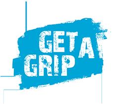 Werkraat label get-a-grip logo