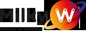 werkraat.nl - logo Milky-W Doetinchem